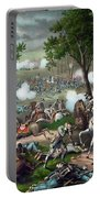 Battle Of Chancellorsville - Death Of Stonewall Portable Battery Charger
