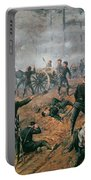 Battle Of Shiloh Portable Battery Charger by T C Lindsay