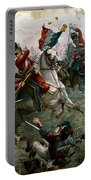 Battle Of Waterloo Portable Battery Charger