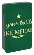 Battle Scars - For Women Portable Battery Charger