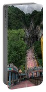 Batu Caves Portable Battery Charger by Adrian Evans