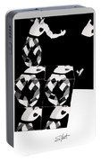 Bauhaus Ballet 2 The Cubist Harlequin Portable Battery Charger