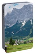 Bavarian Alps Landscape Portable Battery Charger