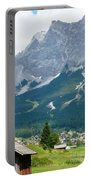 Bavarian Alps With Shed Portable Battery Charger