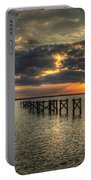 Bay Bridge Sunset Portable Battery Charger