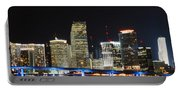 Bay Front Miami Skyline Portable Battery Charger