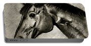 My Friend The Bay Horse Portable Battery Charger