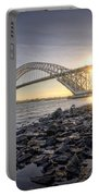 Bayonne Bridge Sunset Portable Battery Charger