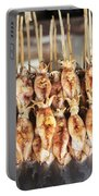 Bbq Asian Grilled Squid In Kep Market Cambodia Portable Battery Charger