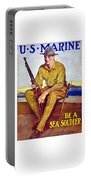 Be A Sea Soldier - Us Marine Portable Battery Charger
