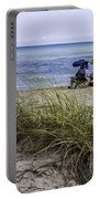 Beach Afternoon Portable Battery Charger