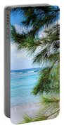 Beach Among The Trees Portable Battery Charger