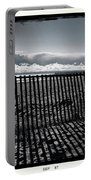 Beach And Fence Portable Battery Charger