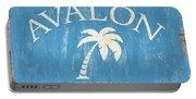 Beach Badge Avalon Portable Battery Charger