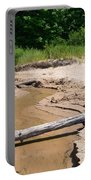 Beach Creek Portable Battery Charger by Michelle Calkins