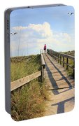 Beach Entrance Portable Battery Charger