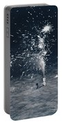 Beach Fire Works Portable Battery Charger