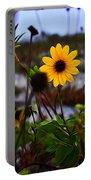 Beach Flower Portable Battery Charger