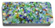 Beach Glass Portable Battery Charger