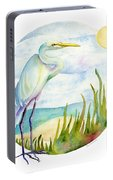 Beach Heron Portable Battery Charger