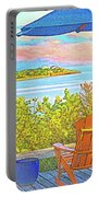 Beach House On The Bay Portable Battery Charger