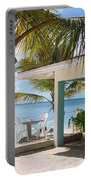 Beach In Grand Turk Portable Battery Charger