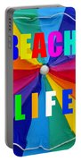 Beach Life Smart Phone Work A Portable Battery Charger