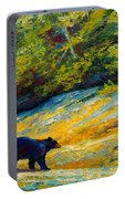 Beach Lunch - Black Bear Portable Battery Charger