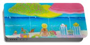 Beach Painting - Beach Life Portable Battery Charger