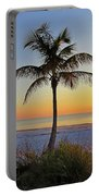 Beach Palm Portable Battery Charger