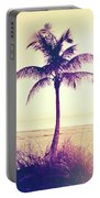 Beach Palm Summer Portable Battery Charger