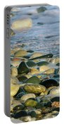Beach Pebbles Portable Battery Charger