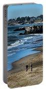 Beach Scene California  Portable Battery Charger