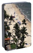 Beach Scene Portable Battery Charger