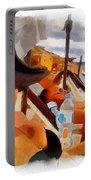 Beach Sea Girl Sun Portable Battery Charger