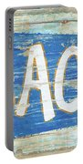 Beach Sign Portable Battery Charger
