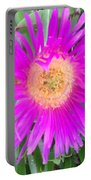 Pink Beach Succulent  Portable Battery Charger