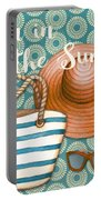 Beach Time-jp3618 Portable Battery Charger