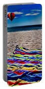 Beach Towel Portable Battery Charger