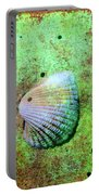 Beach Treasure Portable Battery Charger by Susanne Van Hulst