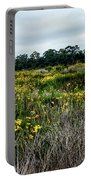 Beach Wildflowers 7 Portable Battery Charger