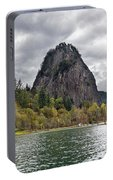 Beacon Rock At Columbia River Gorge Portable Battery Charger