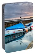 Beadnell Harbour Sunset Portable Battery Charger