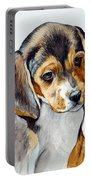 Beagle Puppy Portable Battery Charger
