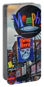 Beale Street Neon Portable Battery Charger