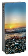 Bean Hollow State Beach, Pebble Beach Portable Battery Charger