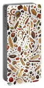 Bean Painting Portable Battery Charger