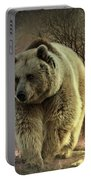 Bear In The Woods Portable Battery Charger