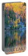 Bear Lake Colorado Poster Portable Battery Charger