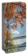 Bear Mountain Bridge Fall Color Portable Battery Charger